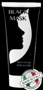 black mask crema viso