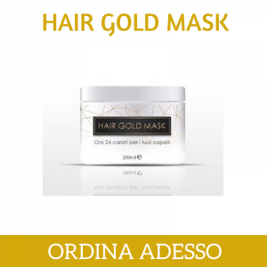 maschera Hair Gold Mask